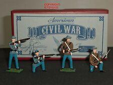 Britains 49025 GUERRA CIVILE AMERICANA Adepto FANTERIA giocattolo soldato Figure Set