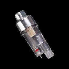 Mini Air Filter Moisture Water Trap 1/8'' Fittings Hose Paint Spray Gun AD