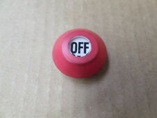 Electromotive Systems Inc WC-R Red OFF Boot For Yale Hoist Pushbutton Station