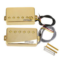 Wilkinson Gold Vintage Tone Alnico 5 PAF Humbucker Pickup For Les Paul LP Guitar