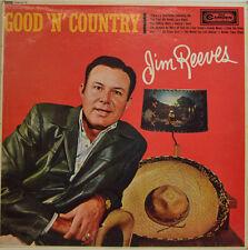 """JIM REEVES - GOOD N COUNTRY - RCA MONO CDN 5114 12"""" LP (X 159)"""