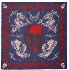 Alexander McQueen Aquatic Skull Colour Pashmina Scarf £290