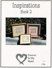 Cross Stitch Chart - Forever In My Heart  - Inspirations Book 2