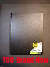 Pentalic Sketch Book-70 lb 110s' 11x8.5in(35.56x27.94cm) Black hard cover #90442