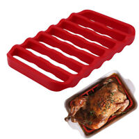 Rectangle Silicone Roasting Rack Cook Trivet Oven Baking Rack For Cooking Steam