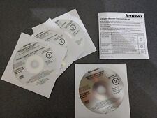 Genuine Lenovo Windows 7 System Recovery Disc Downgrade Apps Drivers New Sealed