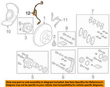 TOYOTA OEM 2018 C-HR-ABS Wheel Speed Sensor Left 89543F4010