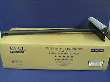 Window Squeegees - Case of 24 - Heads & Handles - Kuki Collection