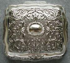 Серебряная шкатулка для безделушек
