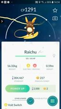 Shiny Alolan Raichu Trade Pokemon GO