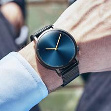 Reloj Pulsera Brazalete Hombre y Mujer De Lujo Resistente Al Agua