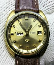 Seiko 6119-7180 Automatic Overhauled Watch Sapphire Glass Similar in 6105 - 8000