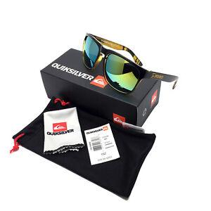 QuikSilver Fashion Men's Spuare Sunglasses Mirrored Outdoor Sport Goggles UV400