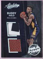 BUDDY HIELD RC 2016-17 ABSOLUTE TOOLS OF THE TRADE PATCH BALL #07/25