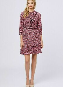 REVIEW parlour girl floral dress - size 8