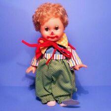 "Vtg 1983 (Horsman - 9"" Clown Girl Doll) Original Clothes Excellent Condition"