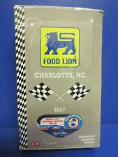 1992 Food Lion Charlotte, NC. Nascar Trading Cards
