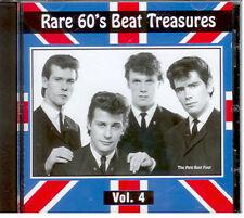 RARE 60'S BEAT TREASURES - Vol. 4 -  BRAND NEW -  CD