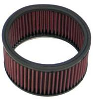 "E-3340 K&N Custom Air Filter 6-1/4""OD,5-1/4""ID,3-1/4""H (KN Round Replacement Fil"