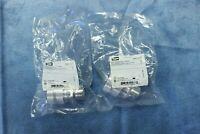 "LOT OF 2 Hubbell SHC1038 3/4"" Aluminum Cord Connector Dia. Range 0.75-0.88"""