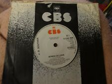 J.D.SOUTHER uk 7inch  record YOURE ONLY LONELY(demo)