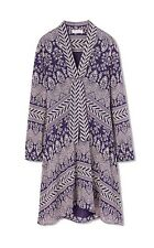 NWT TORY BURCH Bourdelle Tunic Dress Dark Amethyst  Size 6