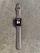 Apple Watch - Series 3 - 42mm - GPS + Cellular - Cracked screen