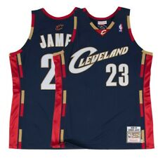 ad20d235 1967-68 Lebron James NBA Cleveland Cavaliers Mitchell & Ness Authentic  Jersey