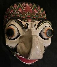 MASQUE THEATRE TOPENG JAVA MASK INDONESIE