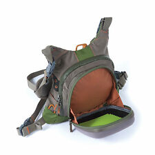 NEW FISHPOND SAVAGE CREEK FLY FISHING CHEST PACK & BAG GREEN FREE U.S. SHIPPING