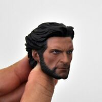 Wolverine 1/6 Head Sculpt Carved Model Fit 12inch Male HT Action Figure Body