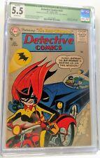 CGC 5.5 DC DETECTIVE COMICS #233 (7/56) BATMAN 1st APP. BATWOMAN KATHY KANE