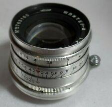 JUPITER 8 Russian Lens F 2/50 mm for M39 L39 mount FED Zorki Leica Camera  1657