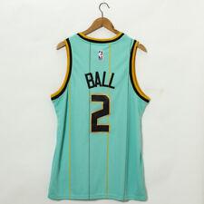 Ball #2 Men's Classic Basketball JERSEY Charlotte Hornets 2021 New Style