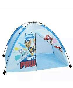 """''NEW'' PAW PATROL Nickelodeon 4x3 kid's """"Anything Is Pawsible"""" TENT"""