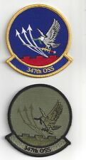 PATCH USAF 347TH OPERATIONS SUPPORT SQ OSS PAIR                 J