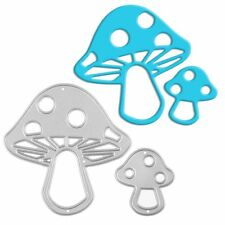 Mushroom Metal Cutting Dies Stencil Scrapbook Album Paper Card Embossing DIY
