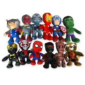 Soft Toy Superheroes 25cm Avengers Original Marvel IN Choose Plush One New
