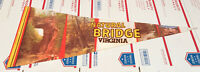 Natural Bridge Pennant The Wax Museum And Factory Virginia