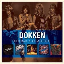 DOKKEN ORIGINAL ALBUM SERIES 5CD ALBUM SET (2009)