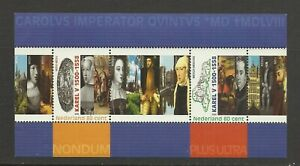 NETHERLANDS 2000  50th Anniversary of Charles  V   umm / mnh Sheetlet