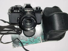 Yashica FX-3 35mm Film SLR Manual Camera with Yashica 55mm F2 DSB Lens - EX++