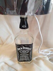 JACK DANIELS IL BOTTLE LAMP, MAN CAVE, TABLE LAMP, BAR
