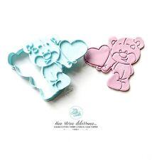 San Valentino Love Orsetto Con Palloncino Formine Per Biscotti Cookie Cutter