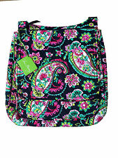 Vera Bradley Mailbag Cross-body in Petal Paisley with Solid Pink Interior - NWT