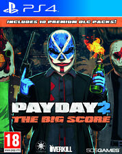 Ps4 Payday 2 The Big Score Plays Perfectly