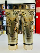 Victoria's Secret Gold Angel Fragrance Body Lotion For Women 8 oz ( Set of 2 )