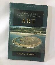 A Short Guide to Writing About Art, Sylvan Barnet, Good Book
