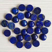 Wholesale Lot 6mm Round Cabochon Natural Lapis Lazuli Loose Calibrated Gemstone