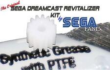The ORIGINAL Sega Dreamcast DC NOISE REDUCER KIT - NEW PINION GEAR!!! SegaFan13